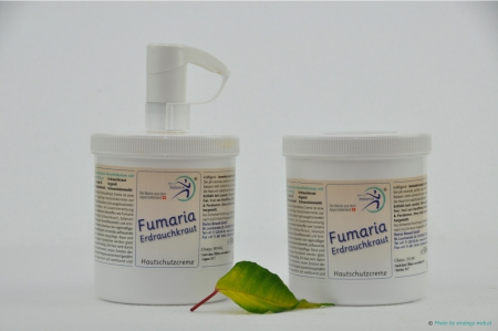 Fumaria PLUS 2 x 500 ml mit Dispenser (Pfünder-Set)